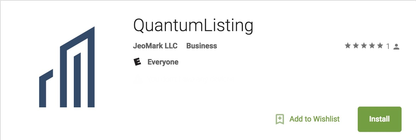 Introducing the QuantumListing for Android App