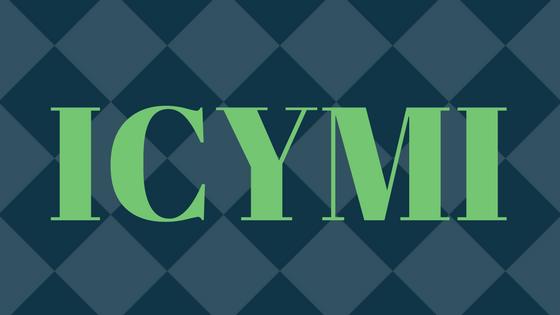 ICYMI: May