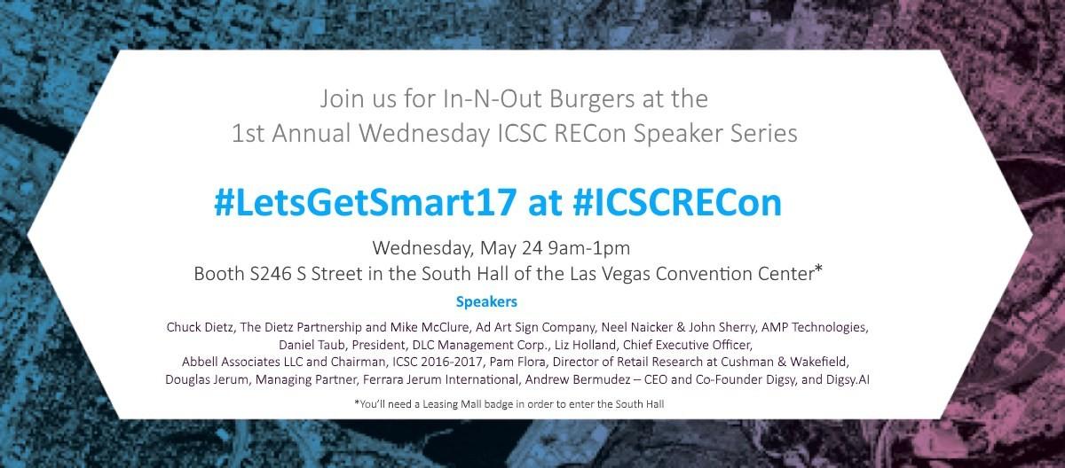 Speaker Roster Set for #LetsGetSmart17 at ICSC RECon