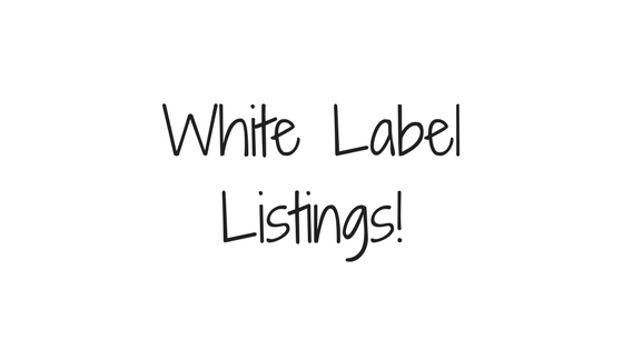 New Feature: White Label Listing Delivery to Your Website