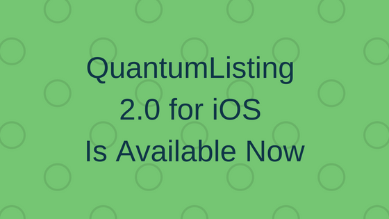 QuantumListing 2.0 for iOS Now Available