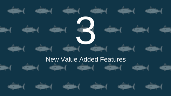 Three New Value Added Features