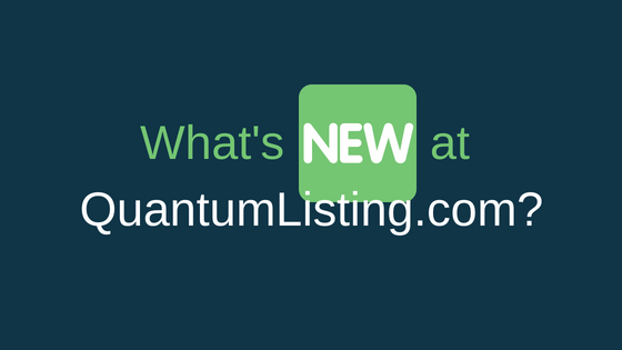 WHAT IS NEW ON QUANTUMLISTING.COM?