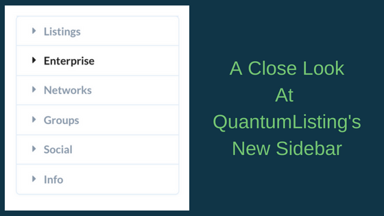 A CLOSE LOOK AT QUANTUMLISTING'S NEW SIDEBAR