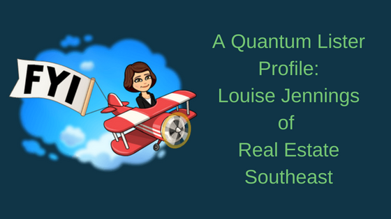 A Quantum Lister Profile: Louise Jennings of Real Estate Southeast