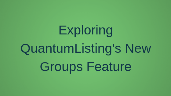 Exploring QuantumListing's New Groups Feature