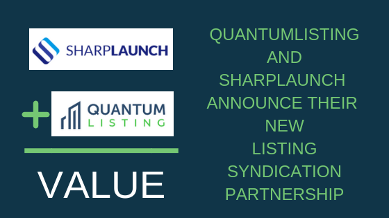 QuantumListing and SharpLaunch Announce Their New Listing Syndication Partnership
