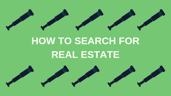 How To Search For Real Estate