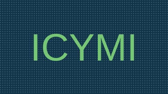 ICYMI November Recap