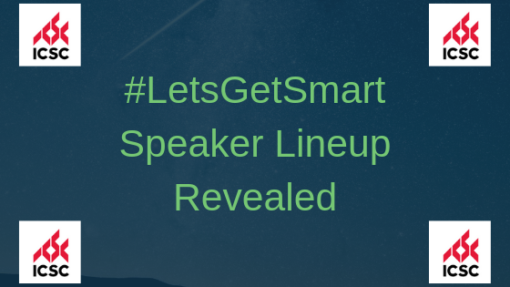 #LetsGetSmart2019 Speaker Lineup Revealed