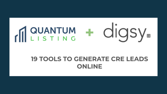 19 Tools to Generate CRE Leads Online with Digsy CEO Andrew Bermudez, Part 1