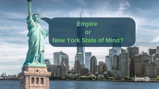 New York or Empire State of Mind?