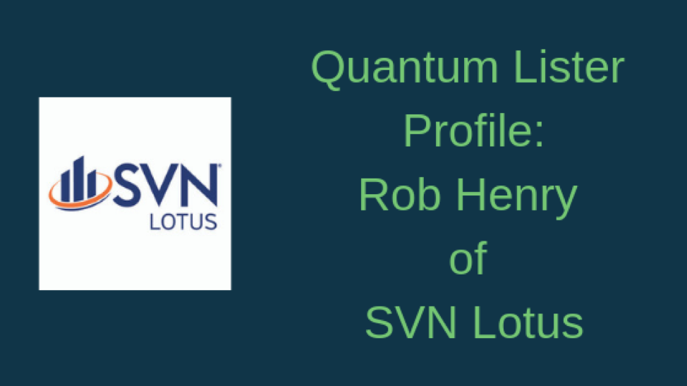 Quantum Lister Profile: Rob Henry of SVN Lotus