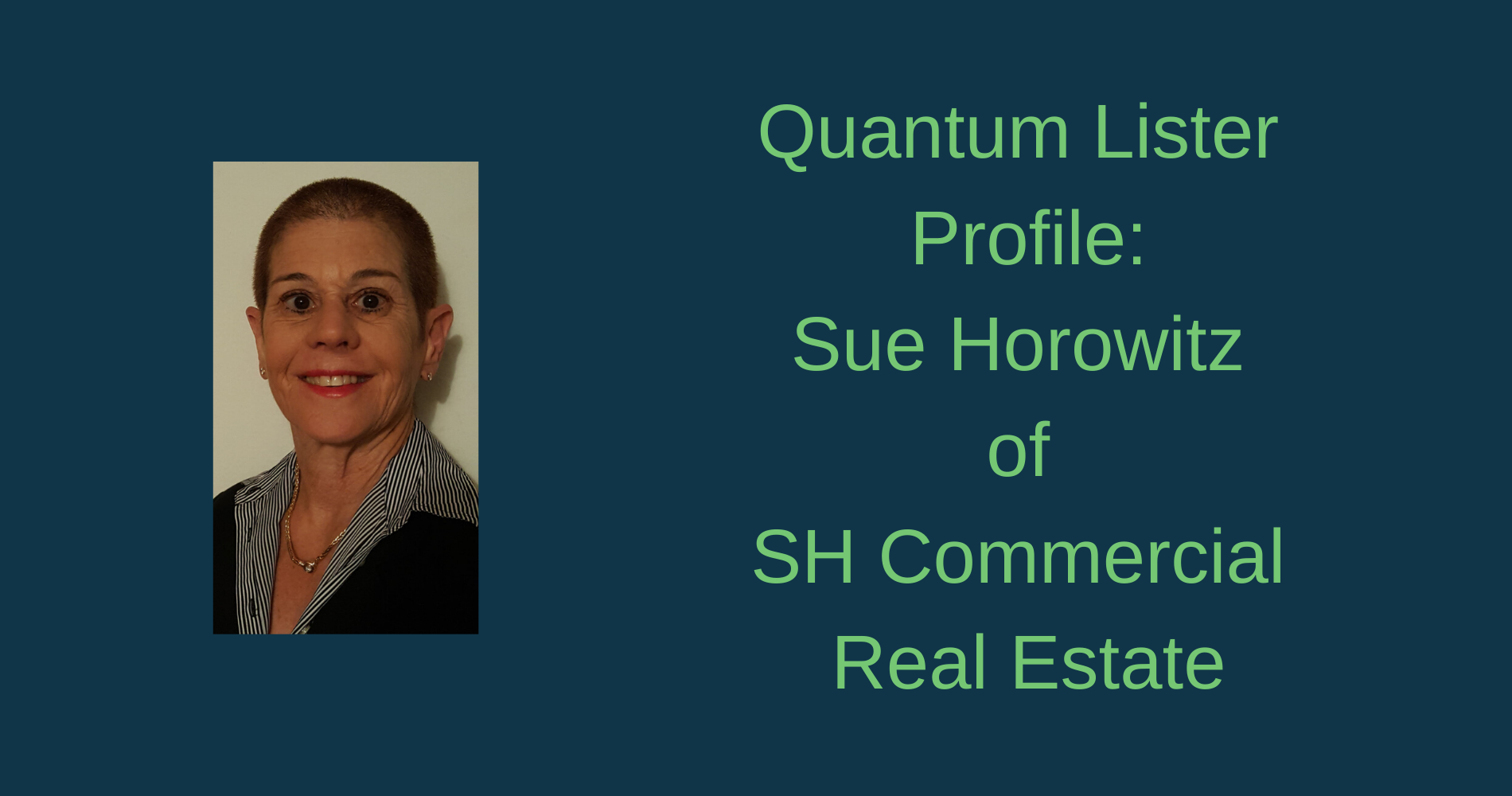 Quantum Lister: Sue Horowitz of SH Commercial Real Estate