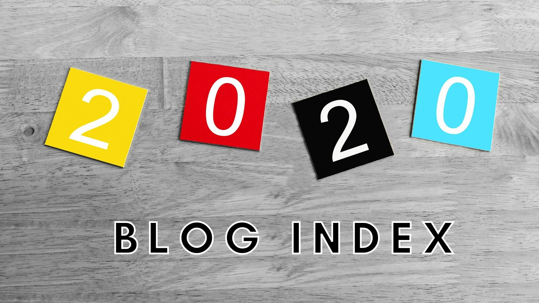The 2020 QuantumListing Blog Post Index
