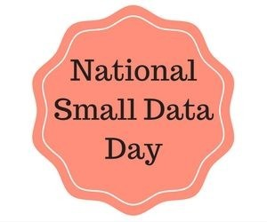Three Cheers for Small Data