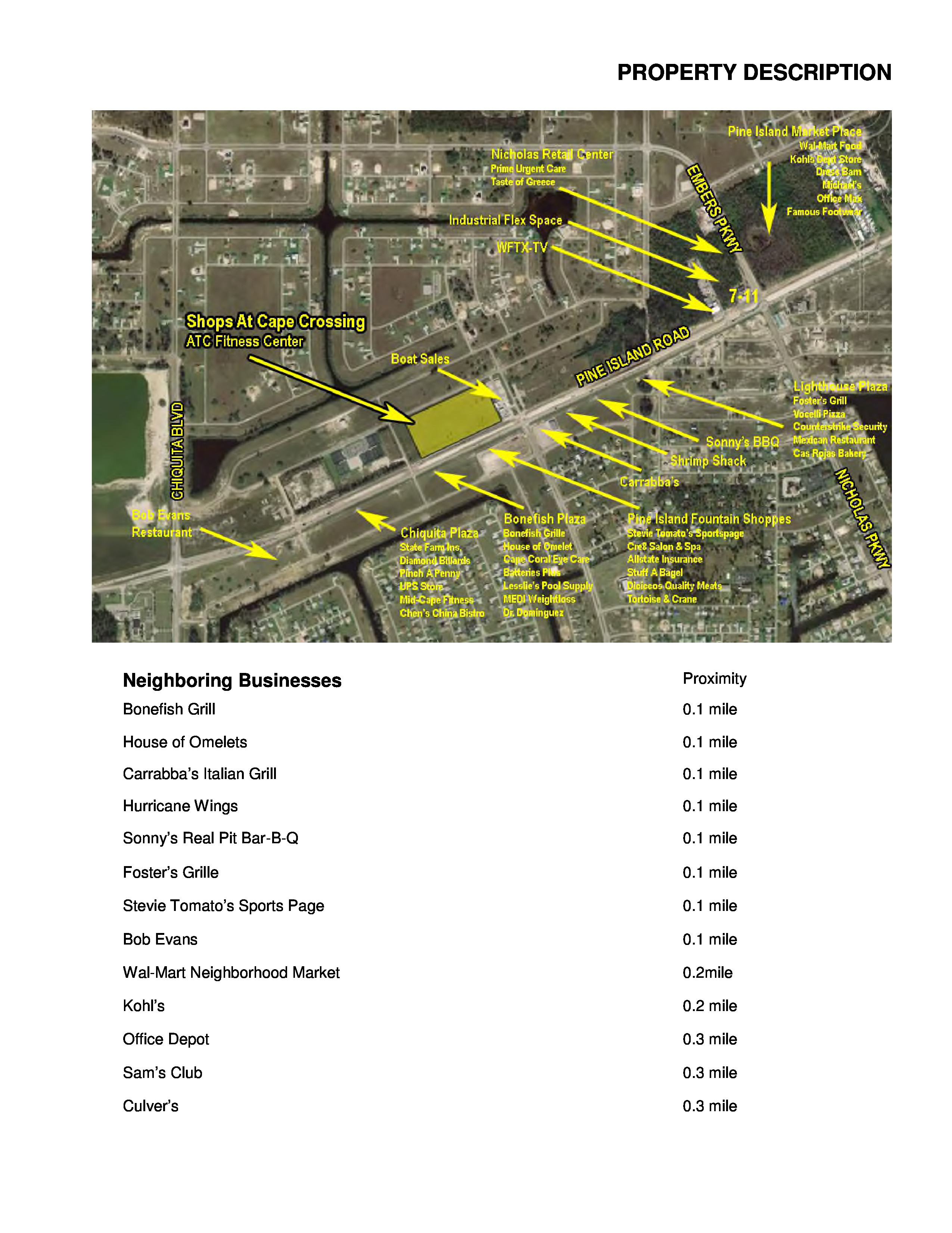 Outparcel 159 Acres Construction Ready Cape Coral Fl 1141 Sw
