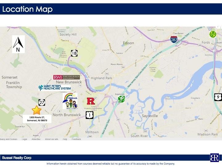 Somerset Nj Map on