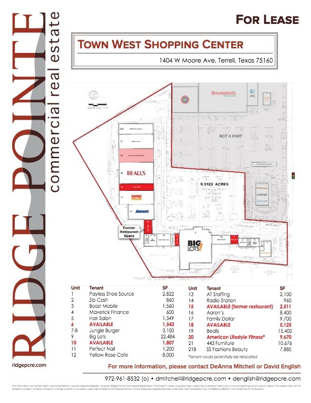 real estate town west shopping center terrell tx quantumlisting