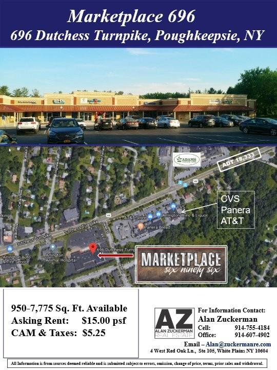 Marketplace 696 Center Dutchess Turnpike, Poughkeepsie, NY