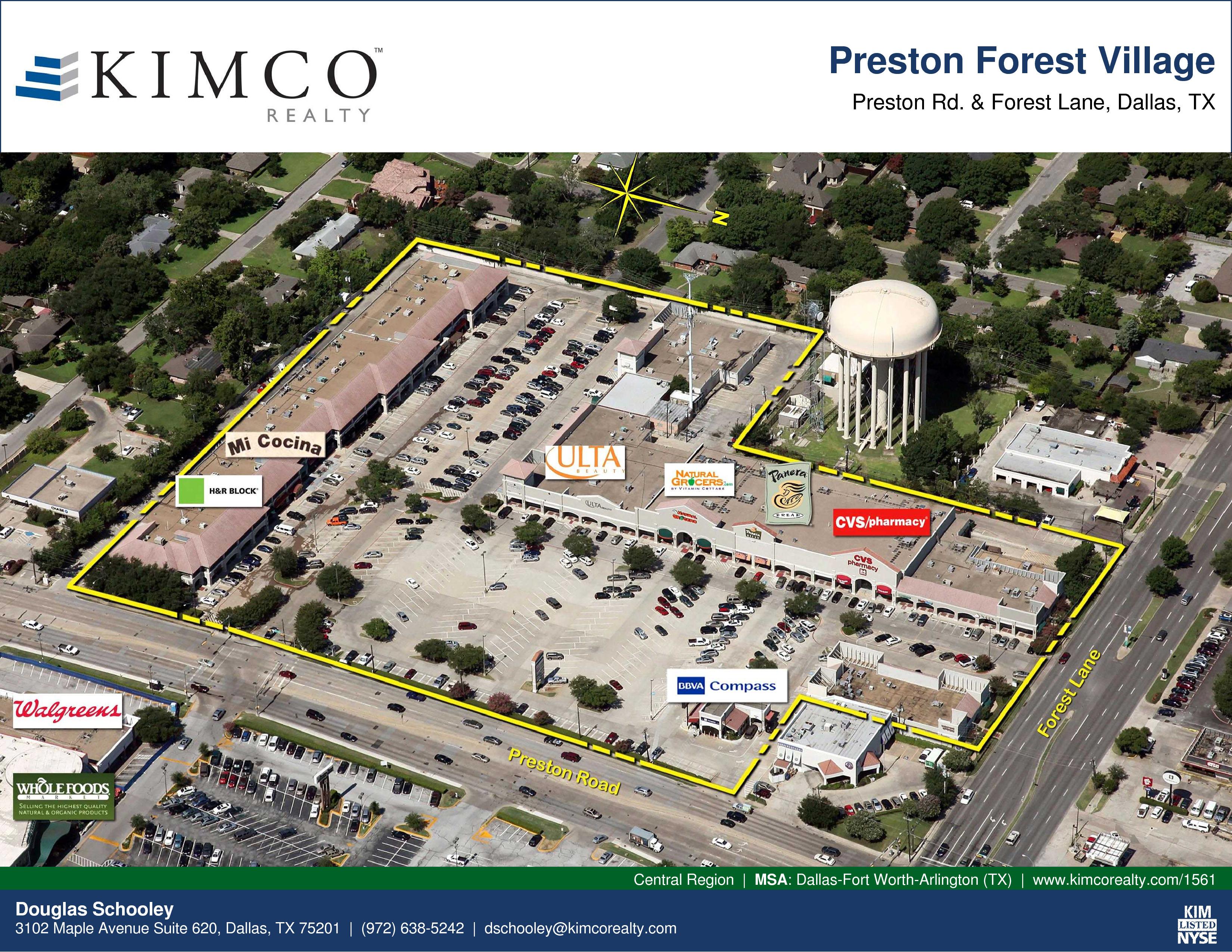 For Lease Preston Forest Village Preston Rd Forest Ln Dallas Tx 6000 Forest Ln Dallas Tx 75230 Usa Real Estate Listing Quantumlisting
