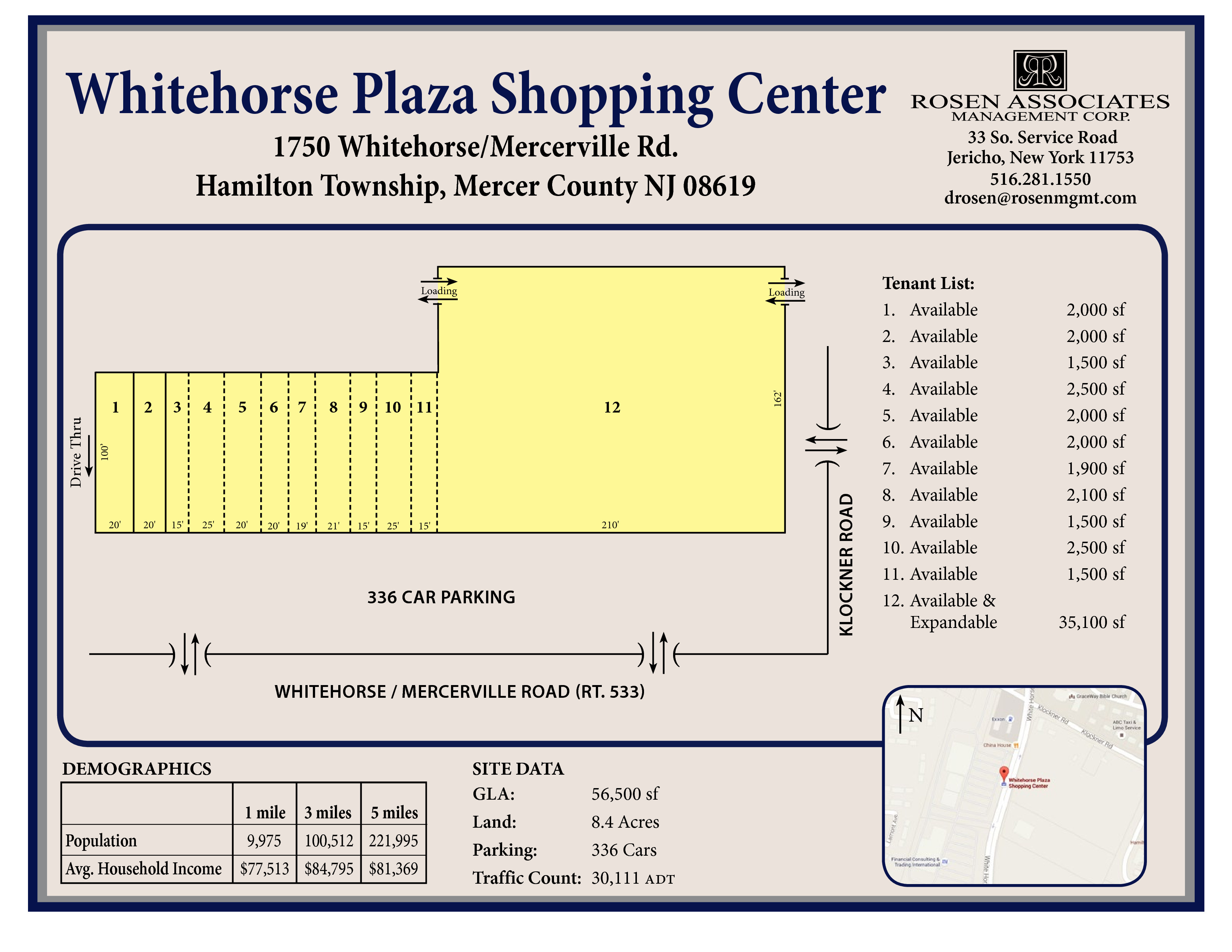Retail Space for Lease - Whitehorse Plaza Shopping Center, 1750
